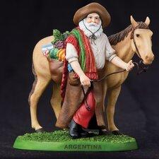 """""""Argentina"""" Argentina Santa Figurine"""