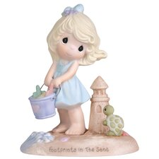 Footprints in the Sand Figurine