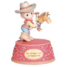 You Always Have a Friend in Me Musical Figurine