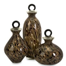 3 Piece Peverelle Decorative Bottle Set