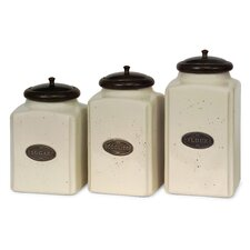 3 Piece Canister Set