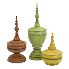 Three Piece Misa Finials Set