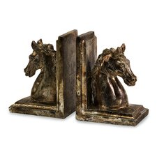 Quinn Horse Book Ends (Set of 2)