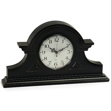 <strong>IMAX</strong> Mantel Clock in Black