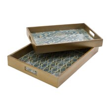 Geneva Trays (Set of 2)