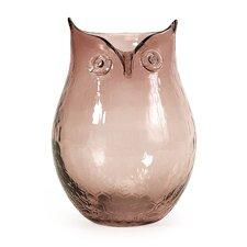 Small Ambra Owl Vase