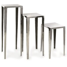 <strong>IMAX</strong> Baldwin 3 Piece Nesting Tables