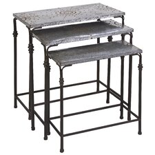 <strong>IMAX</strong> Gilbert 3 Piece Nesting Tables