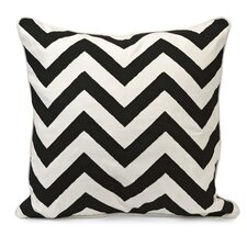 <strong>IMAX</strong> Chevron Embroidered Cotton Pillow
