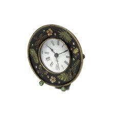 Chic Jeweled Desk Clock