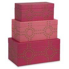 Julia Studded Box (Set of 3)
