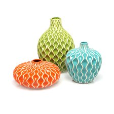 Agatha Ceramic Vase (Set of 3)