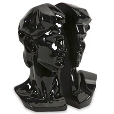 Black David Book End (Set of 2)