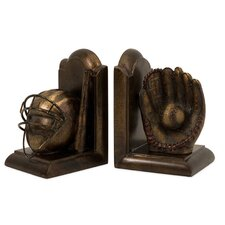Baseball Book Ends (Set of 2)