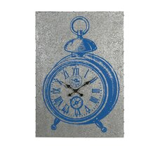 Merten Galvanized Wall Clock