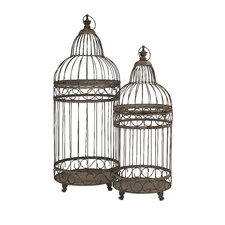 Verona 2 Piece Bird Cages Set