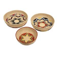 Okimma 3 Piece Baskets Set