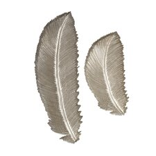 Eshe 2 Piece Carved Feathers Set