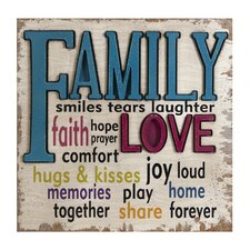 Love and Family Wall Decor