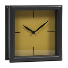 Graphite Metal Clock