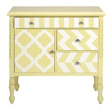 Hardy Yellow Graphic Print Chest