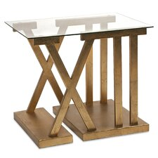 Atticus Roman Numeral End Table