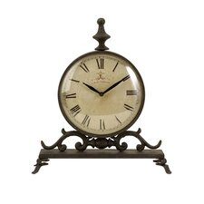 Eilard Iron Table Clock