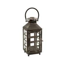 Drake Iron and Glass Candle Lantern