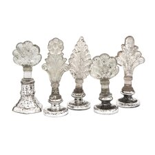 Laila 5 Piece Glass Finails Set