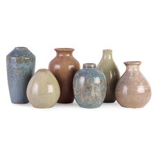6 Piece Mini Vases Set