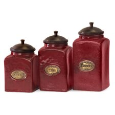 3 Piece Canisters Set