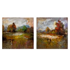 Guennola Oil Painting Set (Set of 2)