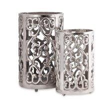 2 Piece Balin Candle Lanterns Set (Set of 2)