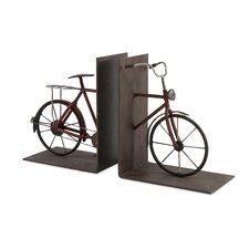 Renee Bicycle Book End (Set of 2)