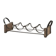 Annette 4 Bottle Table top Wine Rack