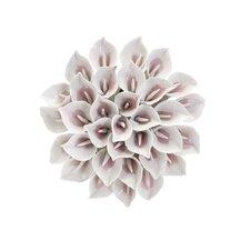 Marita Porcelain Flower Wall Décor