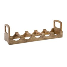 Luca 5 Bottle Tabletop Wine Rack