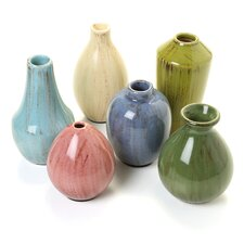 Mini 6 Piece Vase Set