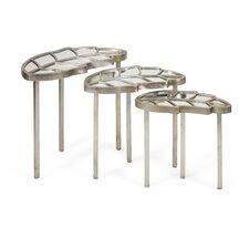 Fauna Leaf 3 Piece Nesting Tables