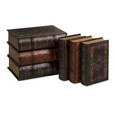 6 Piece Cassiodorus Book Box Collection Set
