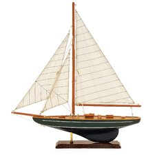 Small Sail Model Boat