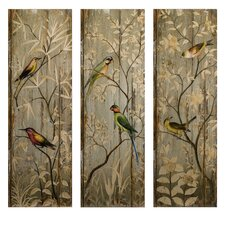 Calima Bird Decor Wall Art (Set of 3)
