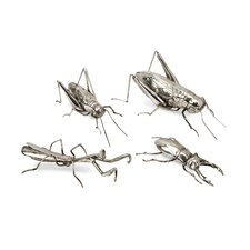Butera Chrome Insect (Set of 4)