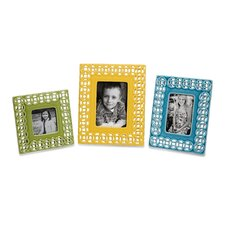 Links Photo Frames (Set of 3)