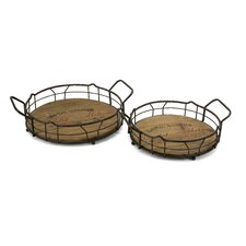 <strong>IMAX</strong> Traineur Serving Tray (Set of 2)