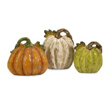 Farmer's Market Pumpkins (Set of 3)