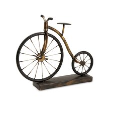 Big Wheel Bicycle Statuary Sculpture