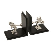 Up in The Air Bookends (Set of 2)