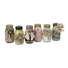 Vintage 6 Piece Mason's Jar Set