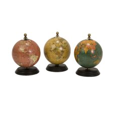 Mini Globe (Set of 3)